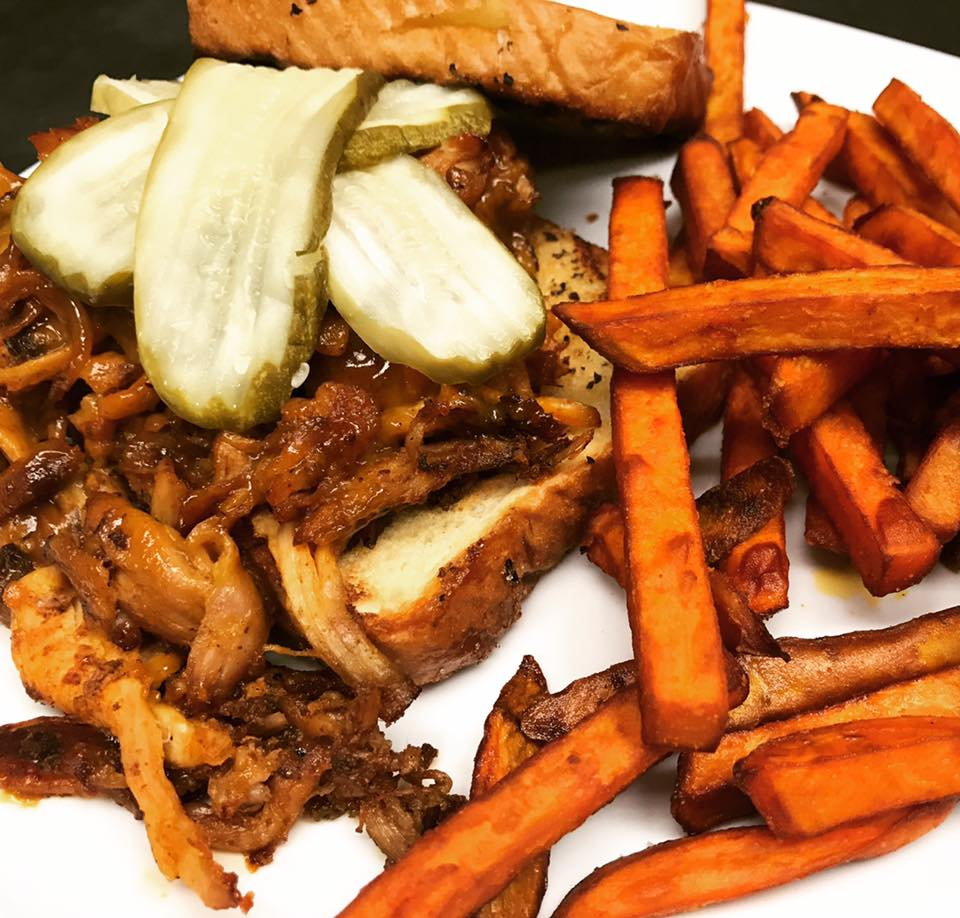 An image of the Pulled Pork Dish