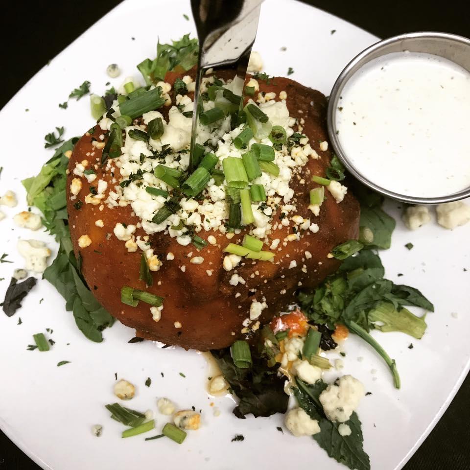 An image of the Buffalo Cauliflower dish