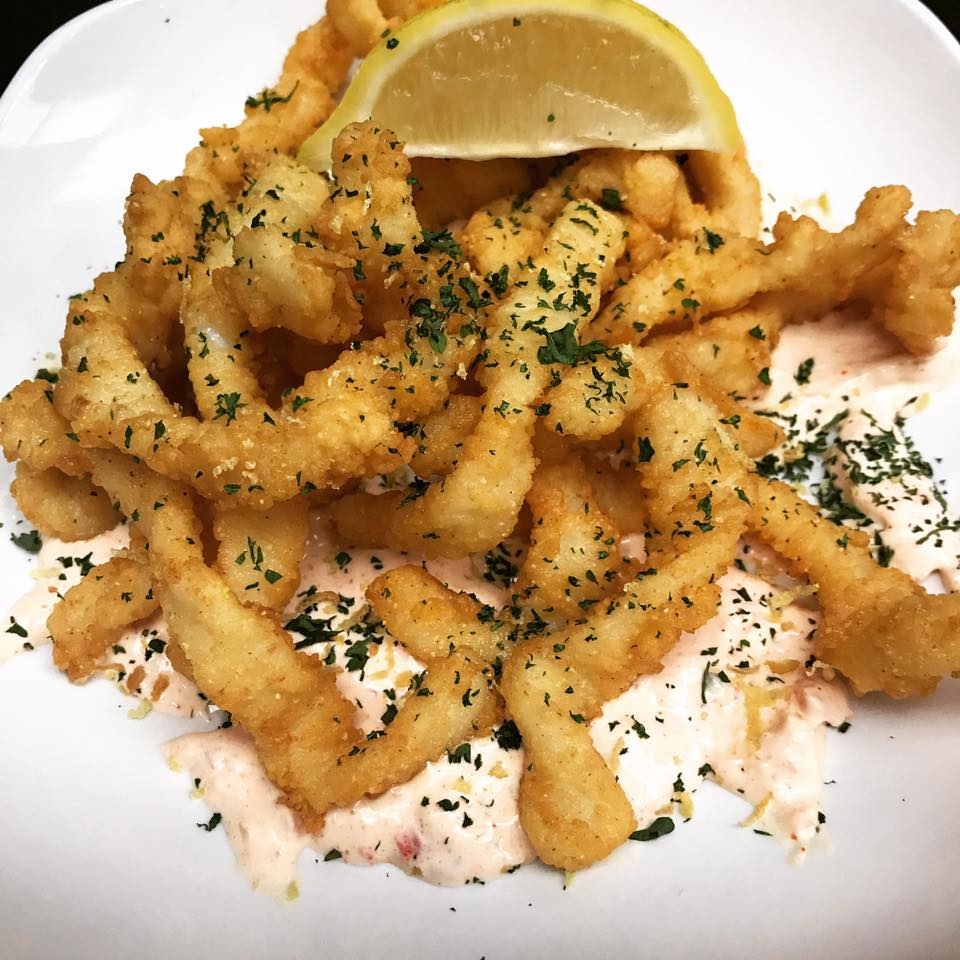 An image of the calamari dish