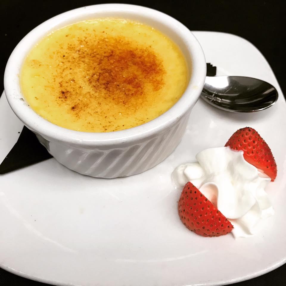 An image of the creme brûlée dish