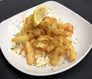 An image of fried calamari