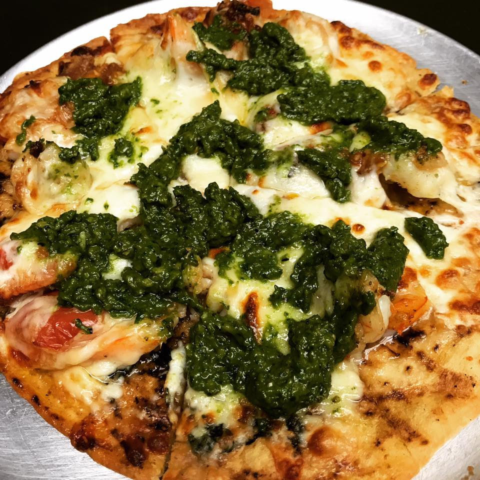 Image of Fins' Pesto Pizza